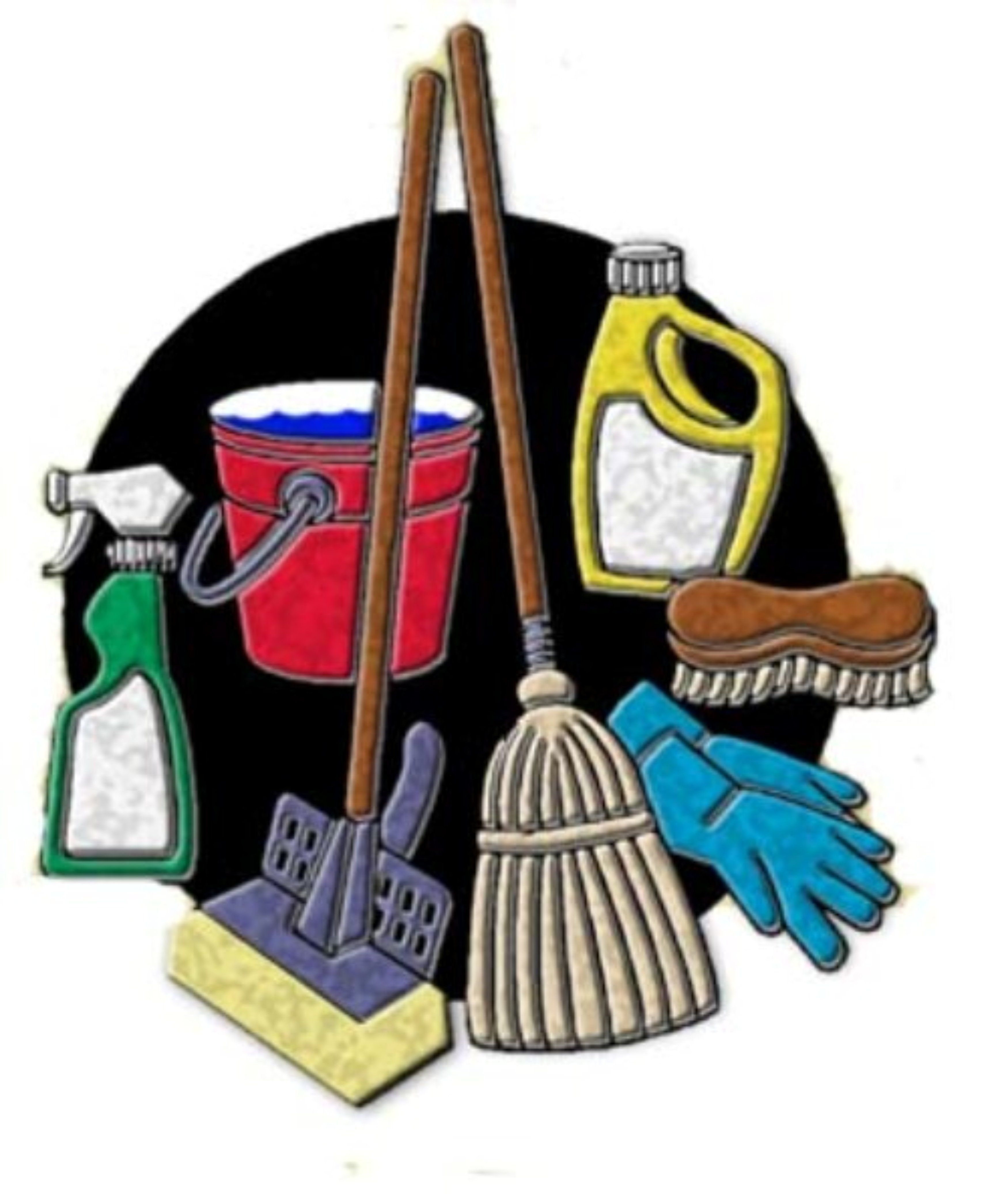 Cleaning Lady Clip Art